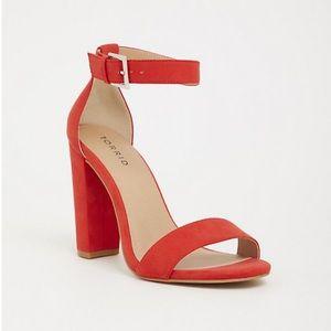 Torrid ankle strap heels